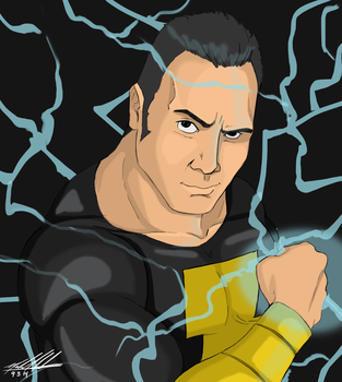Dwayne 'the Black Adam' Johnson by SparkyPantsMcGee
