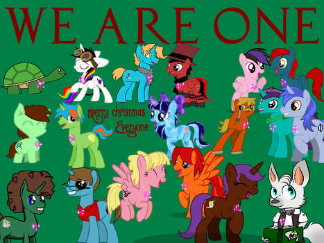 Merry Christmas- We are one by StarDust2755