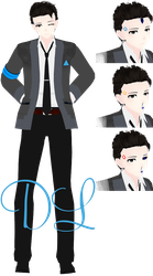 {MMDxDBH} TDA Connor + Download! by HB-Squiddy