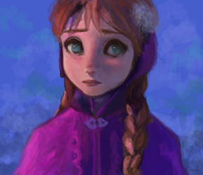Anna by morgyuk