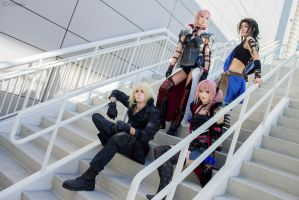 Final Fantasy Lightning Returns Group Cosplay by AlysonTabbitha