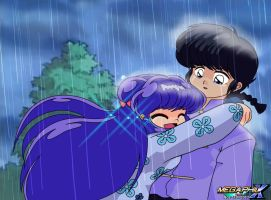 Shampoo and Ranma Cured of their Curse 2 by MegaPhilX
