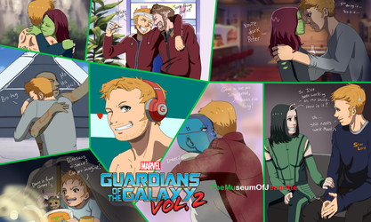 Best Family ~ Guardians of the Galaxy by TheMuseumOfJeanette