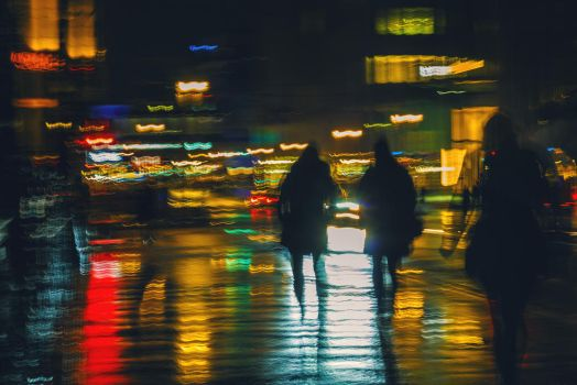 lights and rainy nights by teetotally