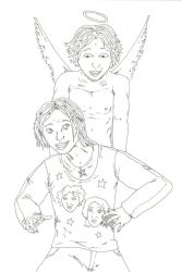 norie and twinkle by organ-donor