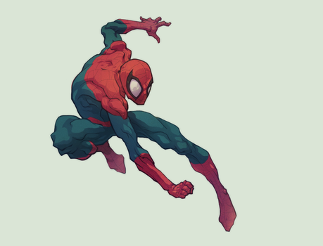 The Amazing Spider-Man! by AlexRedfish