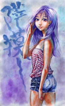 summer girl by tiano1996