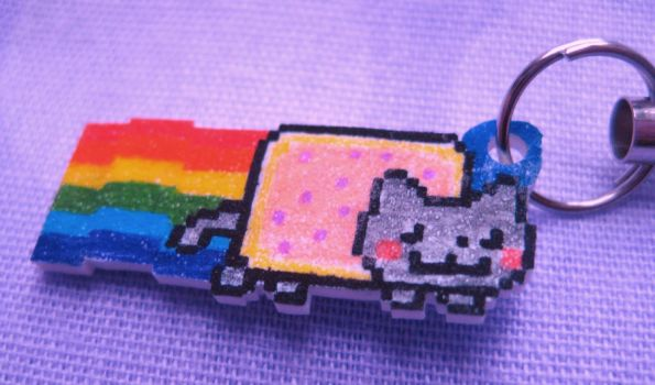 Nyan Cat Charm - Win For Free by opiel16