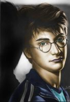 Daniel Radcliffe Colored by nikki13088