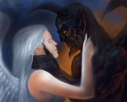 Heaven and hell by gielczynski