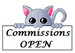 Commission Sign OPEN by Radda11