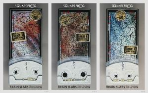 Brain slabs by SquareFrogDesigns