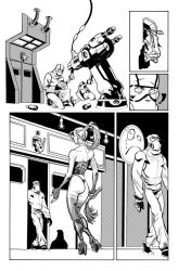 Fantomex MAX, Issue 1, page 13 by Inkpulp