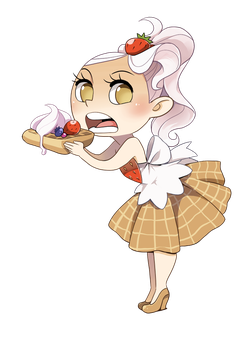 waffle chan by meago