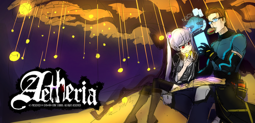 Aetheria Cover Banner WIP by ErMaoWu