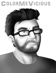 Gus Sorola - Rooster Teeth by ColorMeVicious