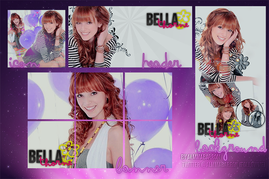 Bella Thorne twitter pack by InvisivleLove