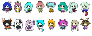 Adopts Batch 17 - 5/10 Points Each by princeadopt