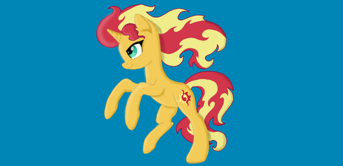 Sunset Shimmer by InoPony