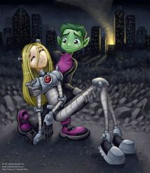 Teen Titans commission by andrea-koupal