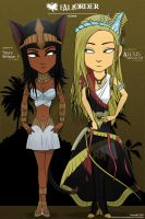 Fall of Order - Power: Sanura and Alexis by GrandLS