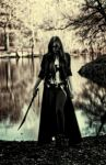 the huntress print by GothicRavenMidnight