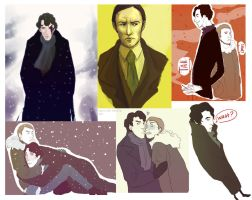 Sherlock BBC scetches by Everybery