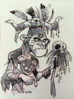 SketchBomb - New Delhi #2 : Witch Doctor by kshiraj