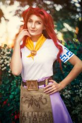 Malon, LOZ: OOT Cosplay by BanditsSpurs