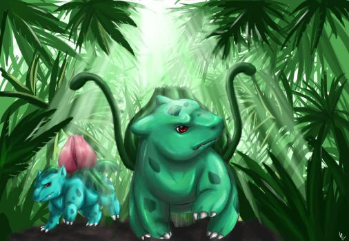 In the Jungle by Kazrael