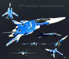 VF 3000 Crusader by EastCoastCanuck