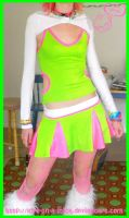 my cyber rave outfit by love-on-a-stick