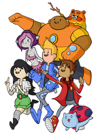 Here come the Bravest Warriors! by BoxBird