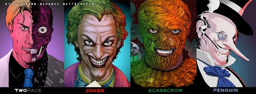 Villains by Roderic-Rodriguez