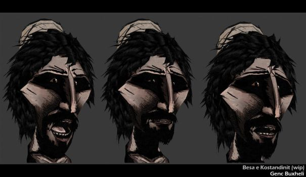 character morph test by genci