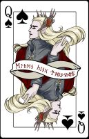 POKER CARD My lord King Thranduil by dosruby