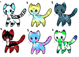 Cat Adopts XX - {CLOSED} by Dreamyth-Adopts