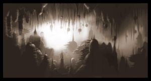 Home of the wierd cave people by Dimitri86