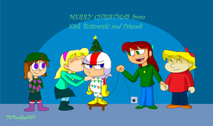 Kick Buttowski - Kindall - Merry Christmas 2017 by TXToonGuy1037