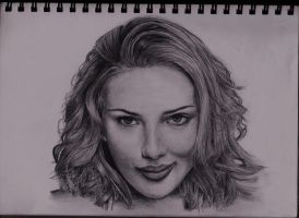 Scarlett Johansson by Yeah-Drawing-Yeah