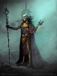 Skeletor Redesign by pinkhavok