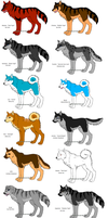 Ginga Dogs by flamearcher909