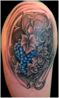 Grapes Dynamics by Anderstattoo