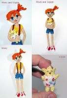 Misty with Togepi by lovebiser