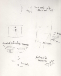 The 3am sketch: Forest's tattoos by 27Paczkis