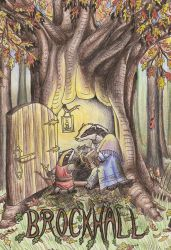 Badgers of Brockhall by EWilloughby