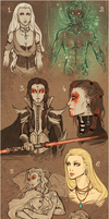 Star Wars OCs - doodle time by Reliah