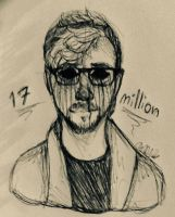 Happy 17 Million JackSepticEye! by StaticBalloonatic
