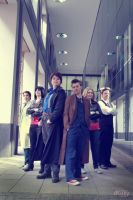 Group - Torchwood and Doctor Who I by Waterqueen-san