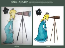 Draw this again- Rosalina by TheMarioSisters